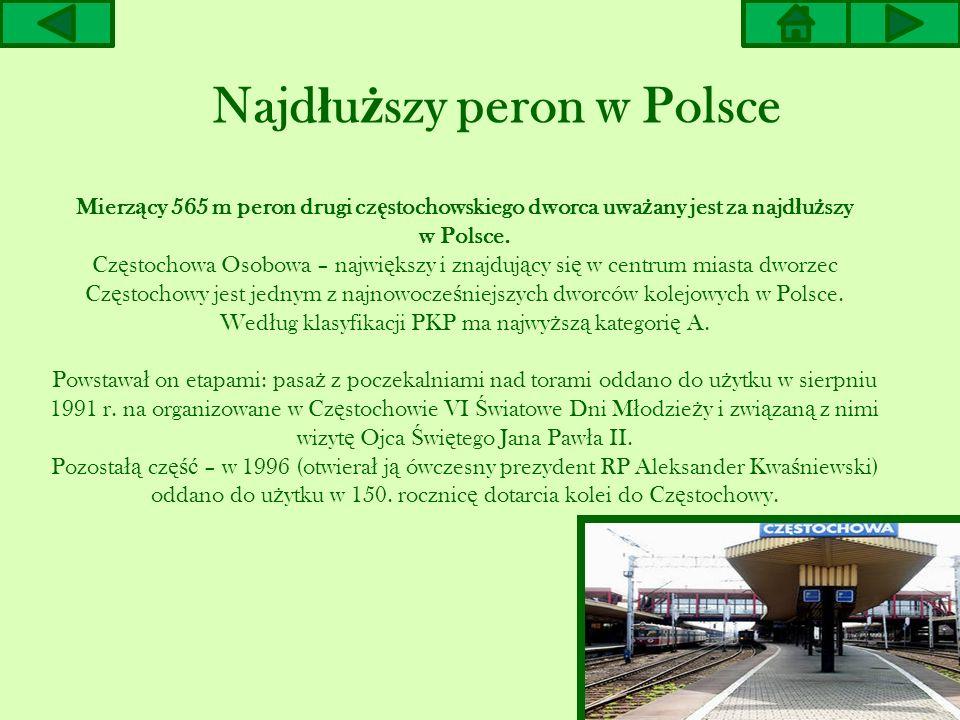 Najdłuższy peron w Polsce