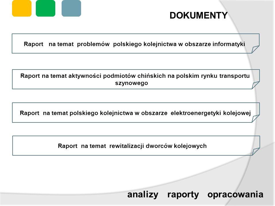 DOKUMENTY analizy raporty opracowania