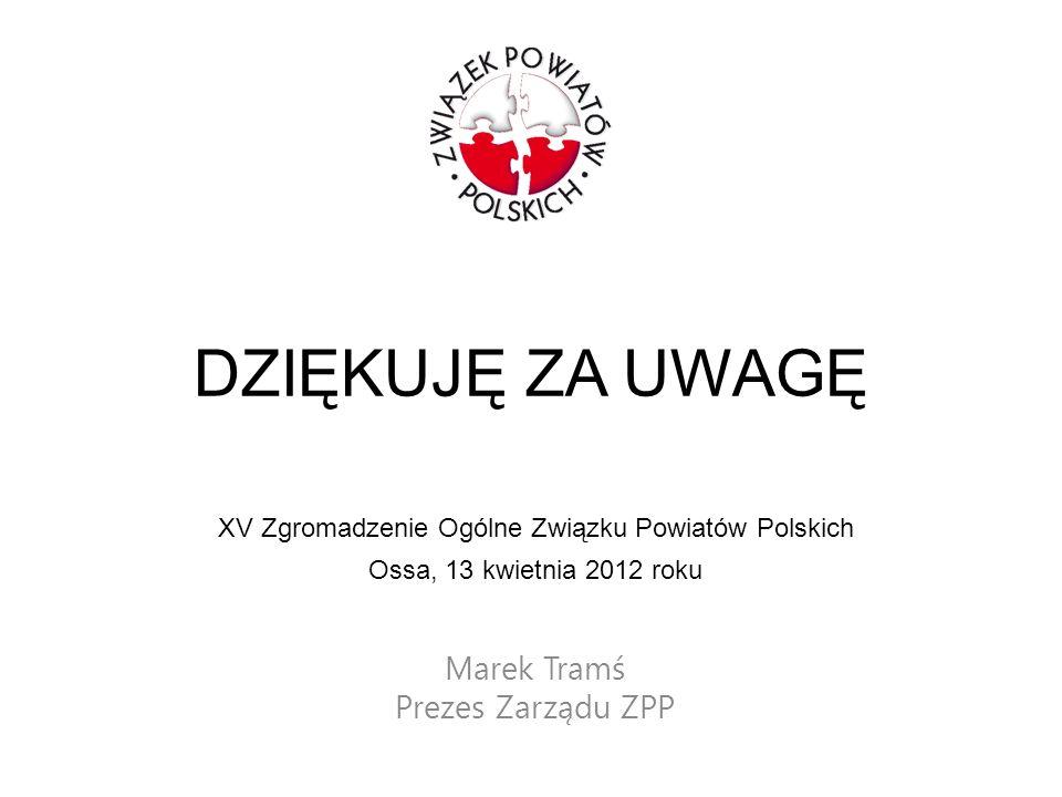 Marek Tramś Prezes Zarządu ZPP