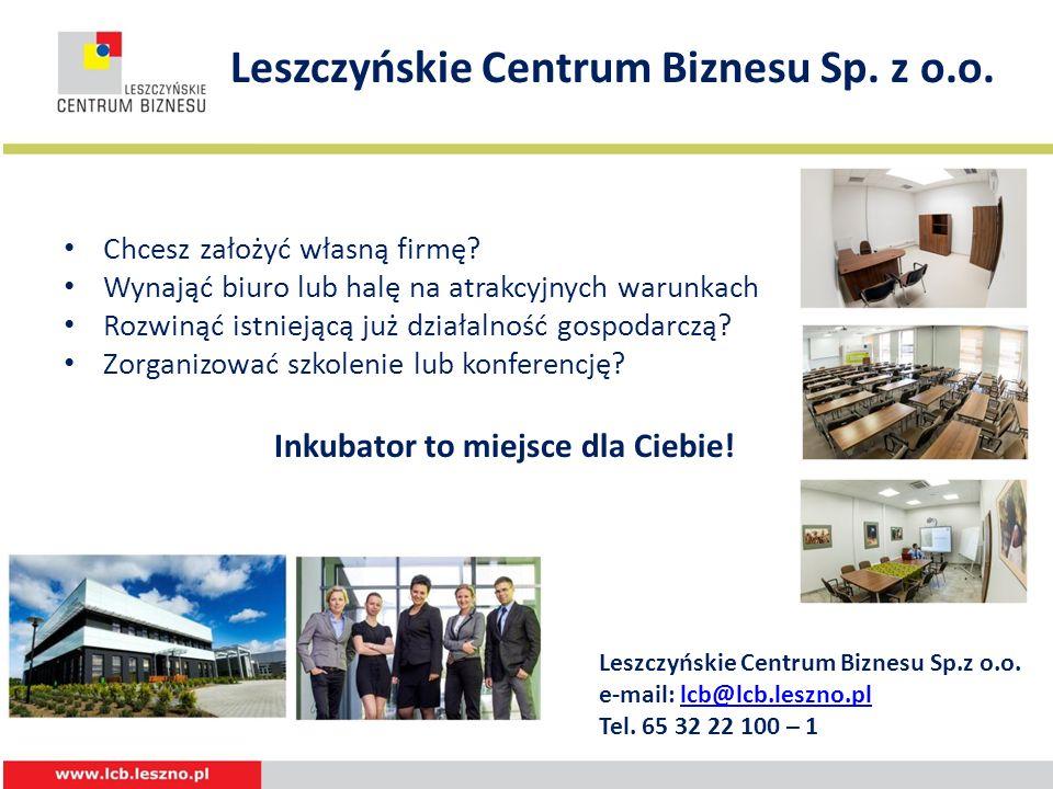 Leszczyńskie Centrum Biznesu Sp. z o.o.