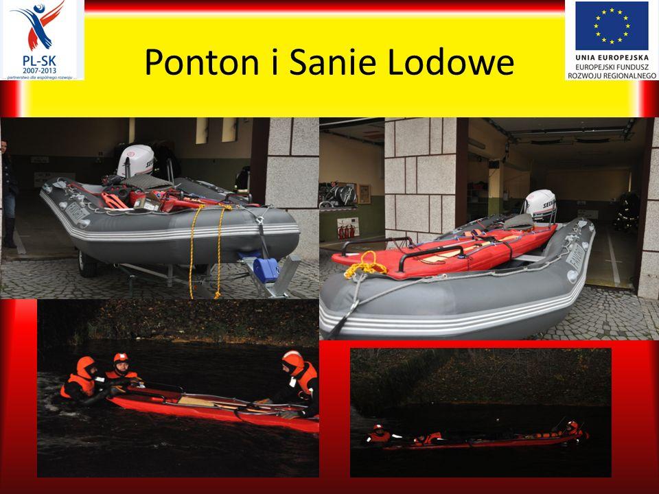 Ponton i Sanie Lodowe