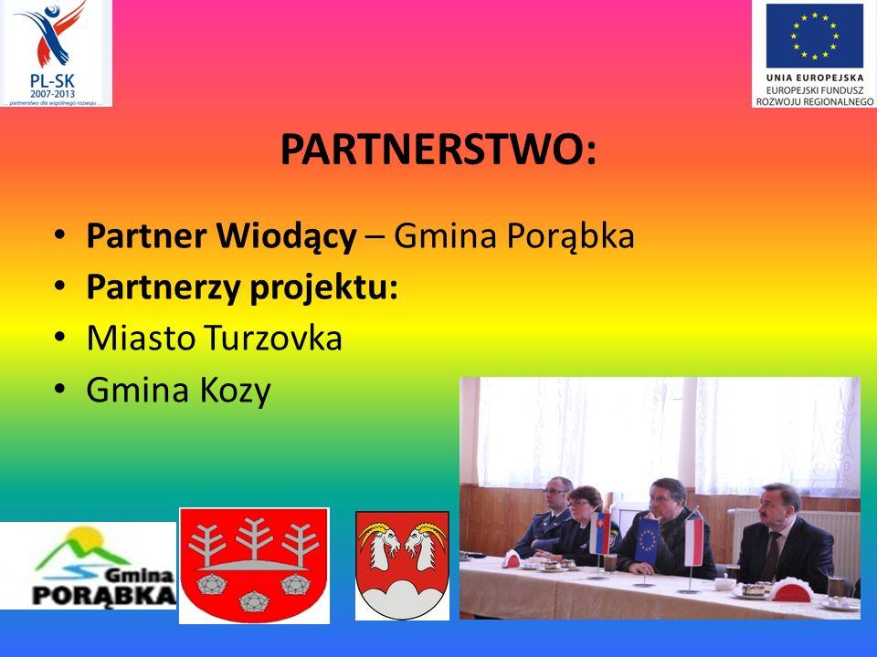 PARTNERSTWO: Partner Wiodący – Gmina Porąbka Partnerzy projektu: