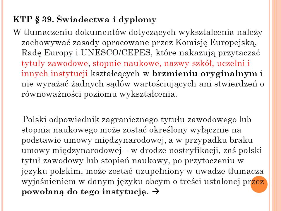 KTP § 39.