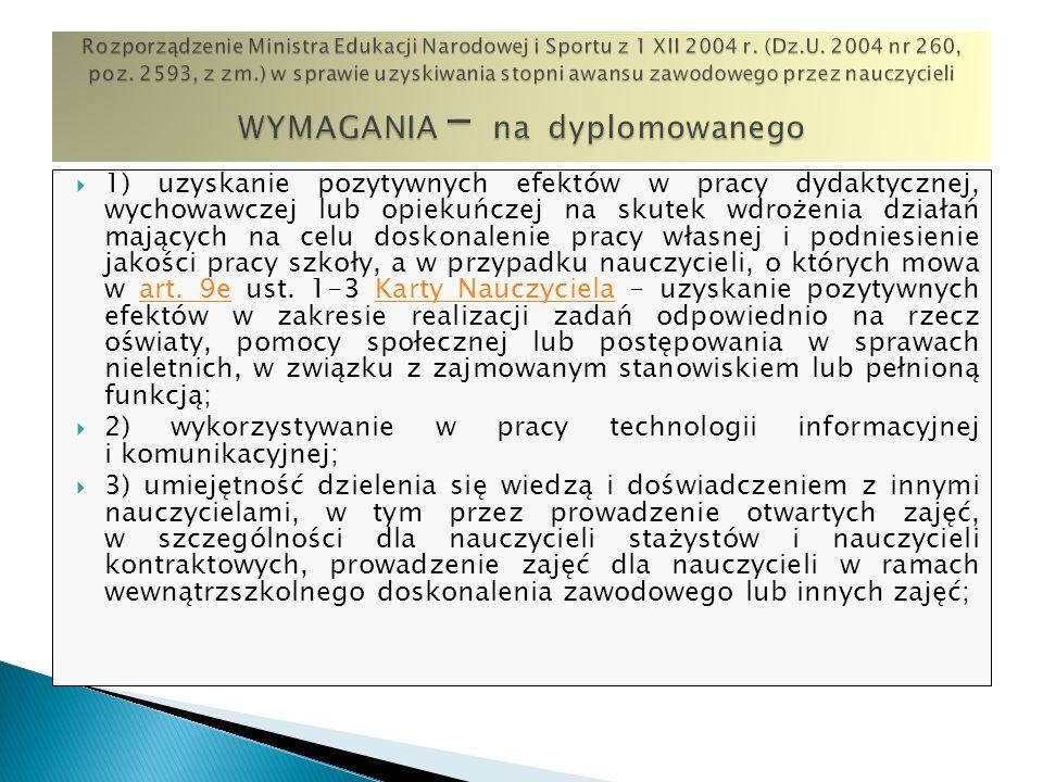2) wykorzystywanie w pracy technologii informacyjnej i komunikacyjnej;