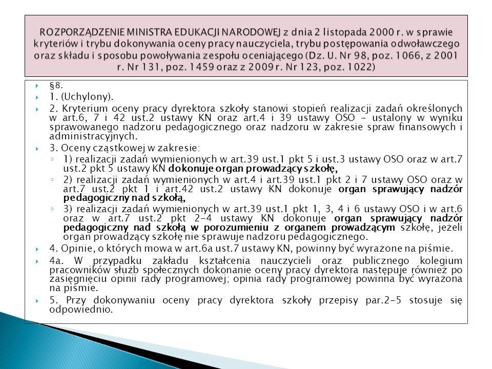 3. Oceny cząstkowej w zakresie: