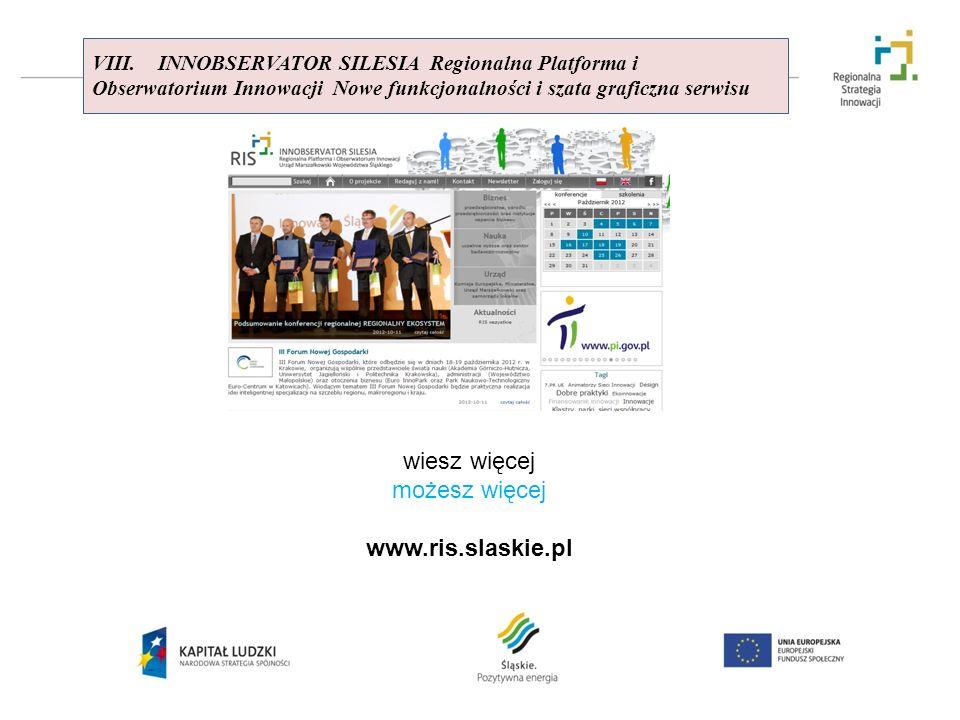 wiesz więcej możesz więcej www.ris.slaskie.pl