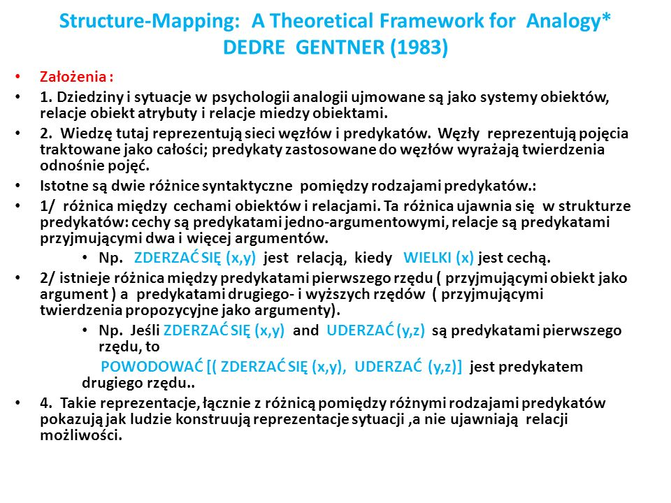 Structure-Mapping: A Theoretical Framework for Analogy