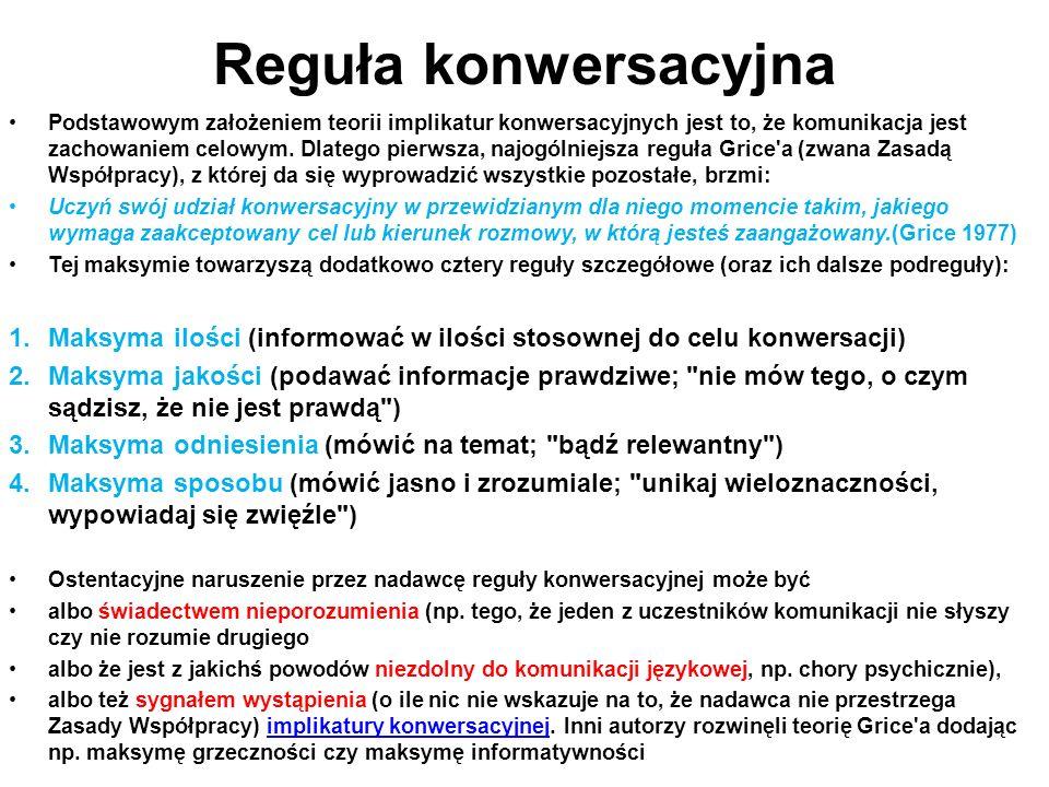 Reguła konwersacyjna