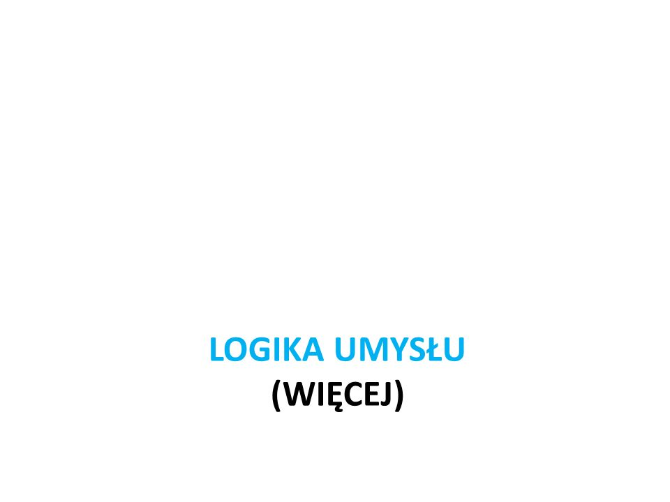 Logika umysłu (WIĘCEJ)