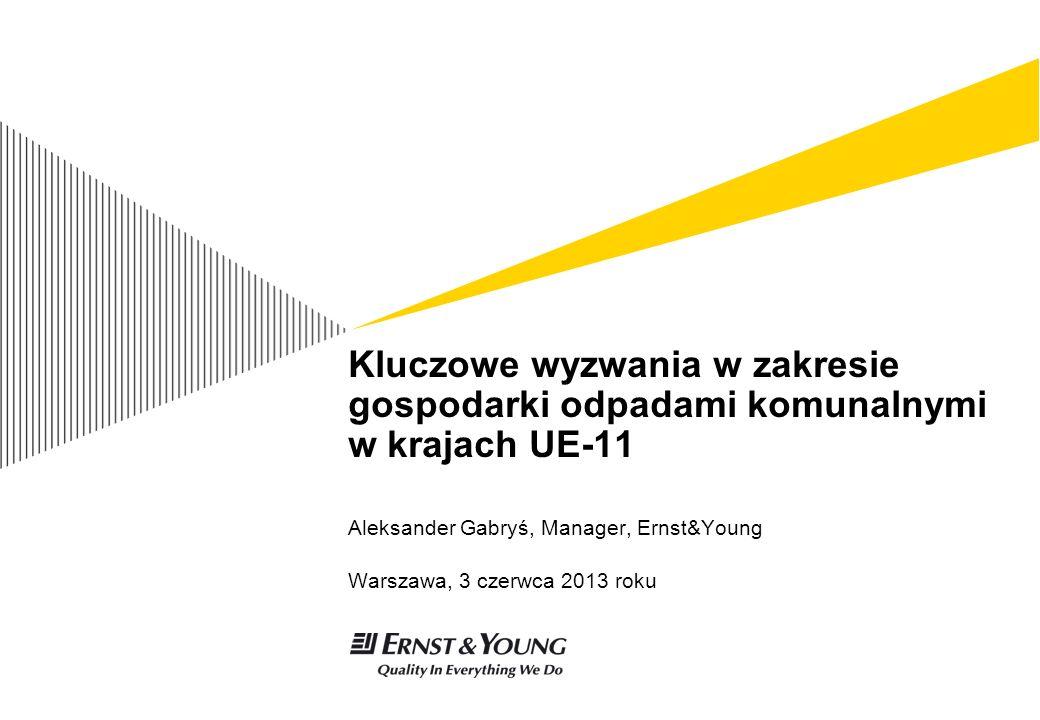 Aleksander Gabryś, Manager, Ernst&Young Warszawa, 3 czerwca 2013 roku