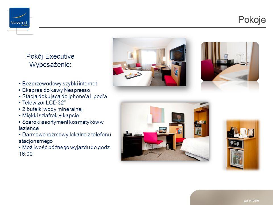 Pokoje Pokój Executive Wyposażenie: Bezprzewodowy szybki internet