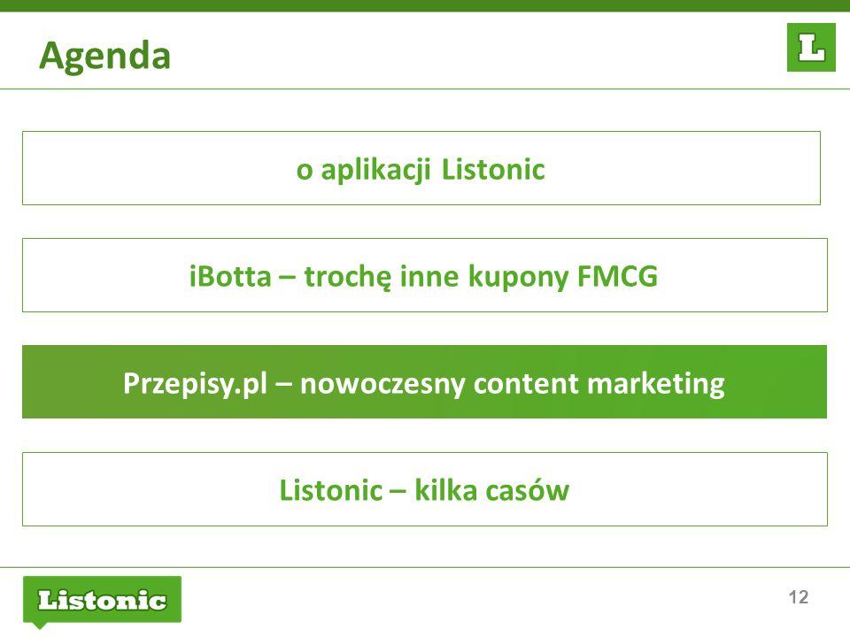 Agenda o aplikacji Listonic iBotta – trochę inne kupony FMCG