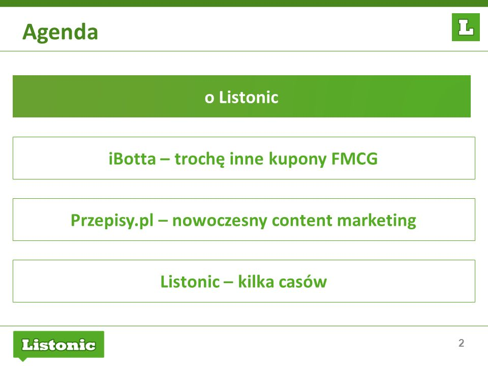 Agenda o Listonic iBotta – trochę inne kupony FMCG