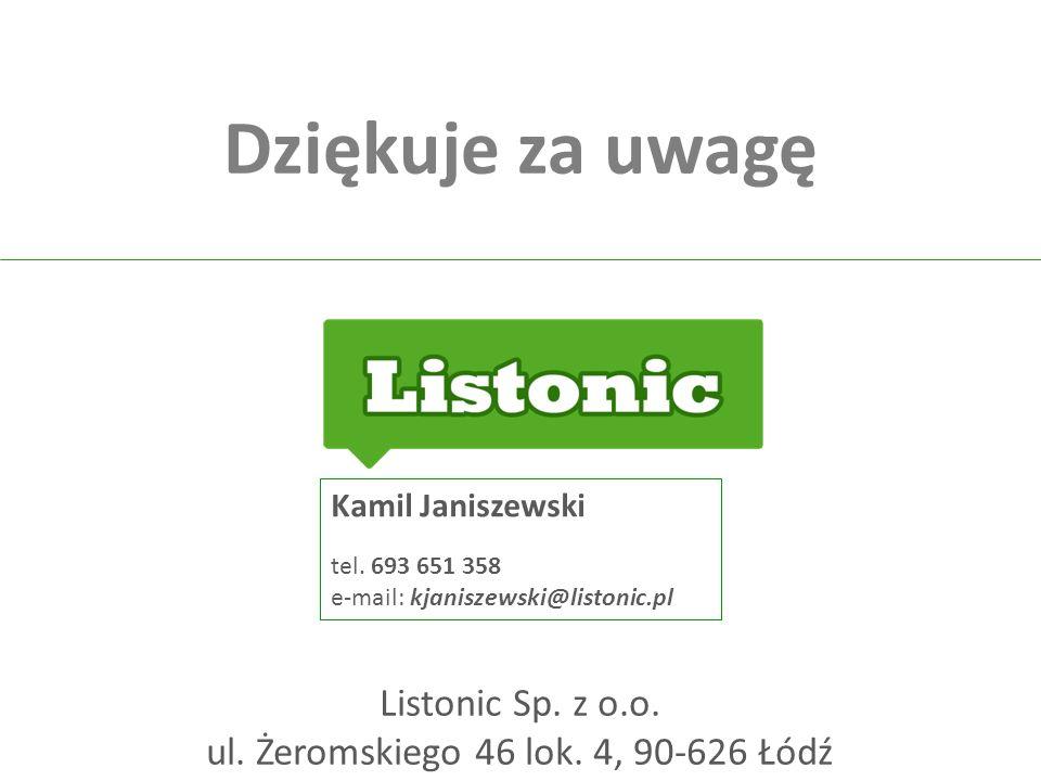 ul. Żeromskiego 46 lok. 4, 90-626 Łódź