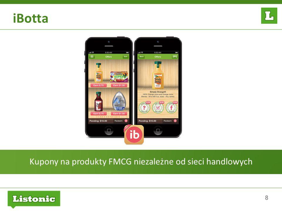 Kupony na produkty FMCG niezależne od sieci handlowych
