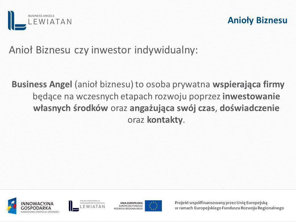 Anioł Biznesu czy inwestor indywidualny: