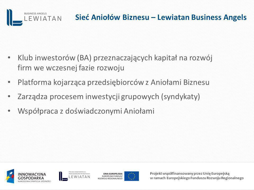 Sieć Aniołów Biznesu – Lewiatan Business Angels