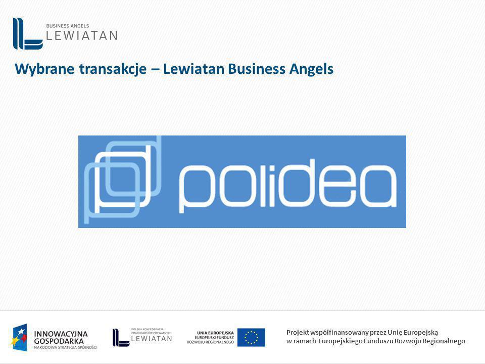 Wybrane transakcje – Lewiatan Business Angels