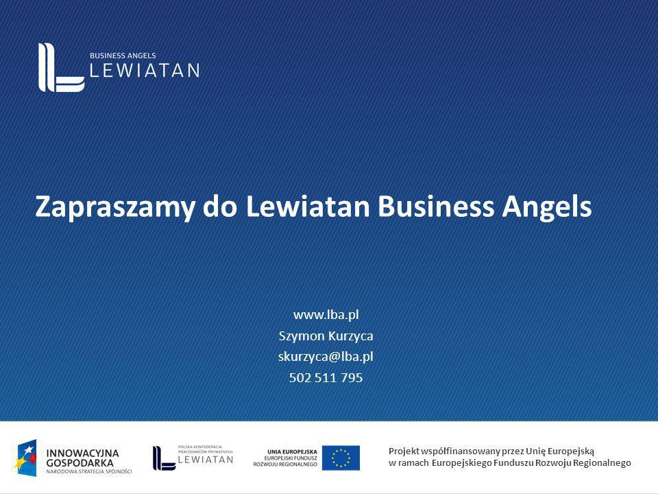 Zapraszamy do Lewiatan Business Angels