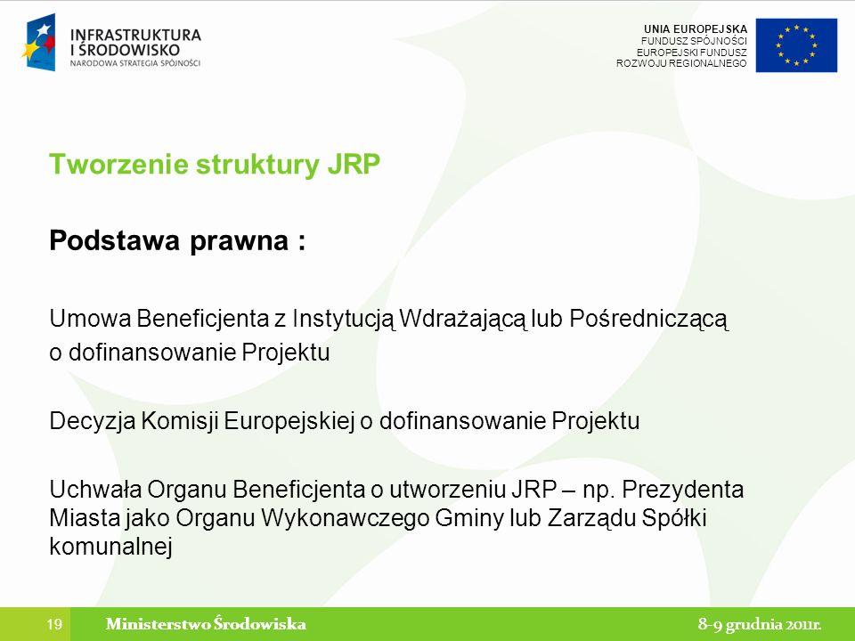 Tworzenie struktury JRP