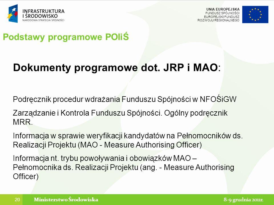 Podstawy programowe POIiŚ