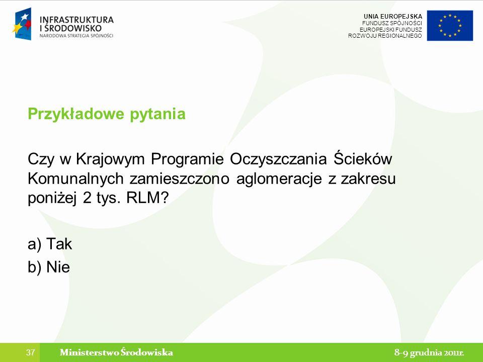 Ministerstwo Środowiska Ministerstwo Środowiska