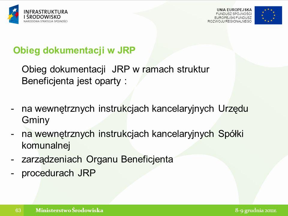 Obieg dokumentacji w JRP