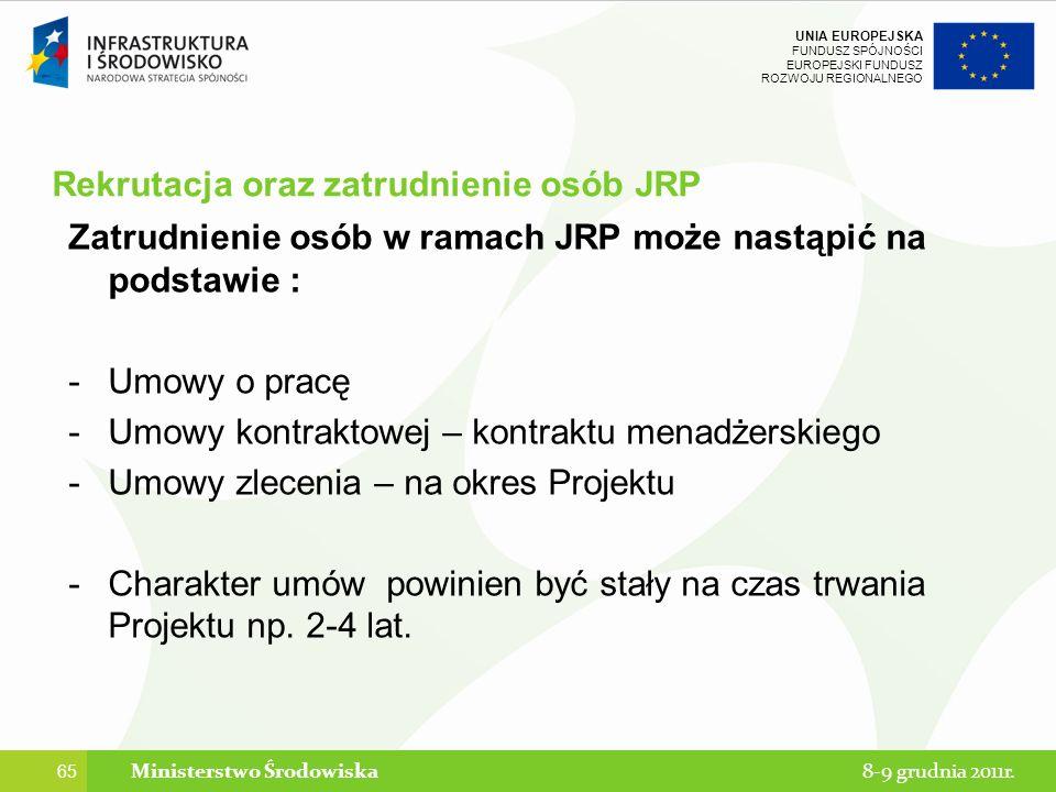 Rekrutacja oraz zatrudnienie osób JRP