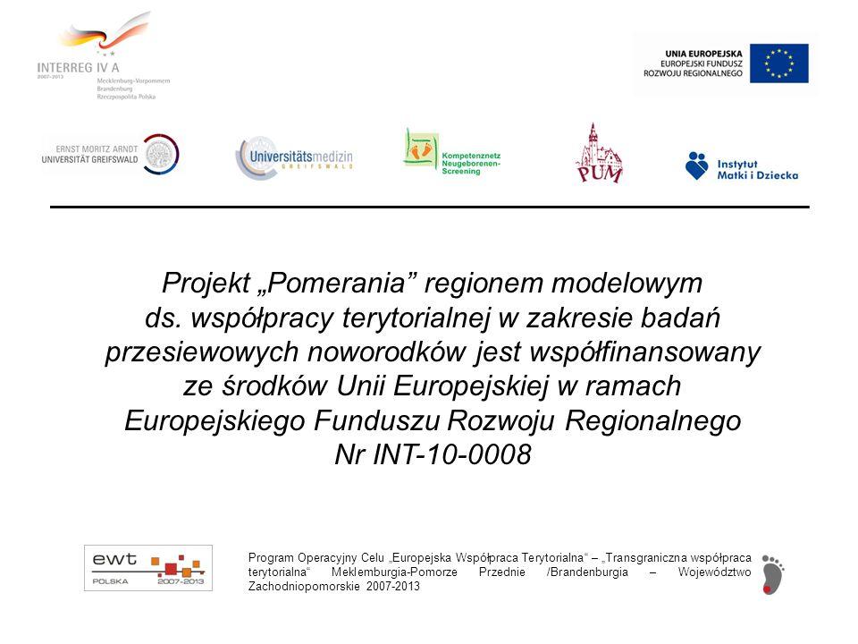 """Projekt """"Pomerania regionem modelowym ds"""