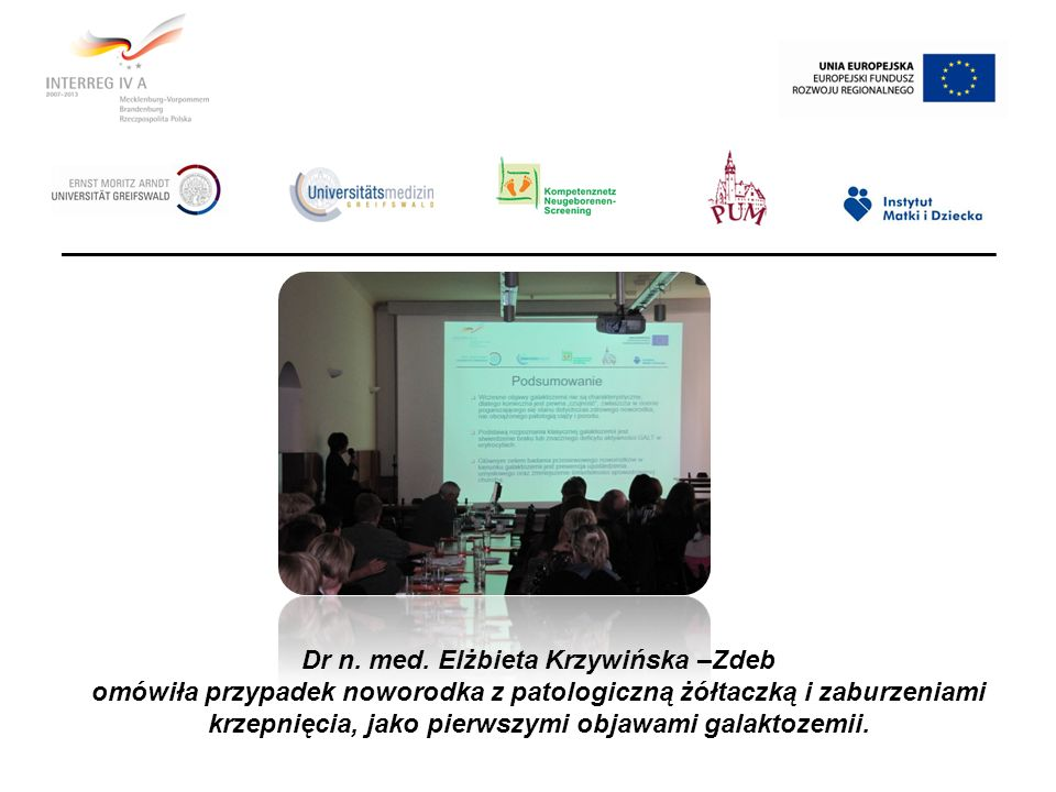Dr n. med. Elżbieta Krzywińska –Zdeb
