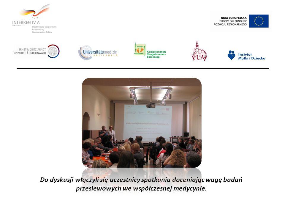 Do dyskusji włączyli się uczestnicy spotkania doceniając wagę badań przesiewowych we współczesnej medycynie.