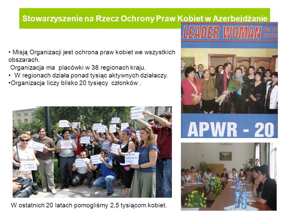 Stowarzyszenie na Rzecz Ochrony Praw Kobiet w Azerbejdżanie