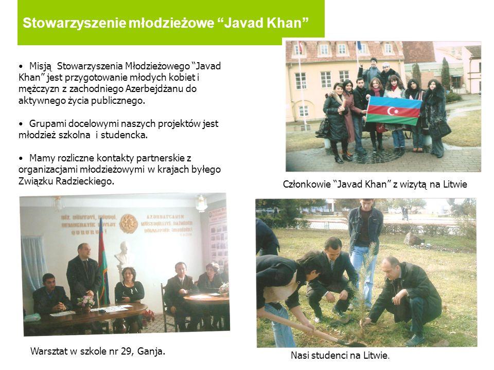 Stowarzyszenie młodzieżowe Javad Khan