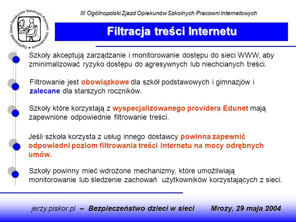 Filtracja treści Internetu