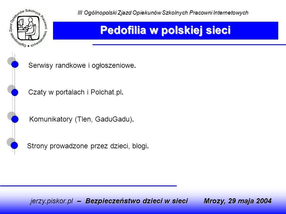 Pedofilia w polskiej sieci