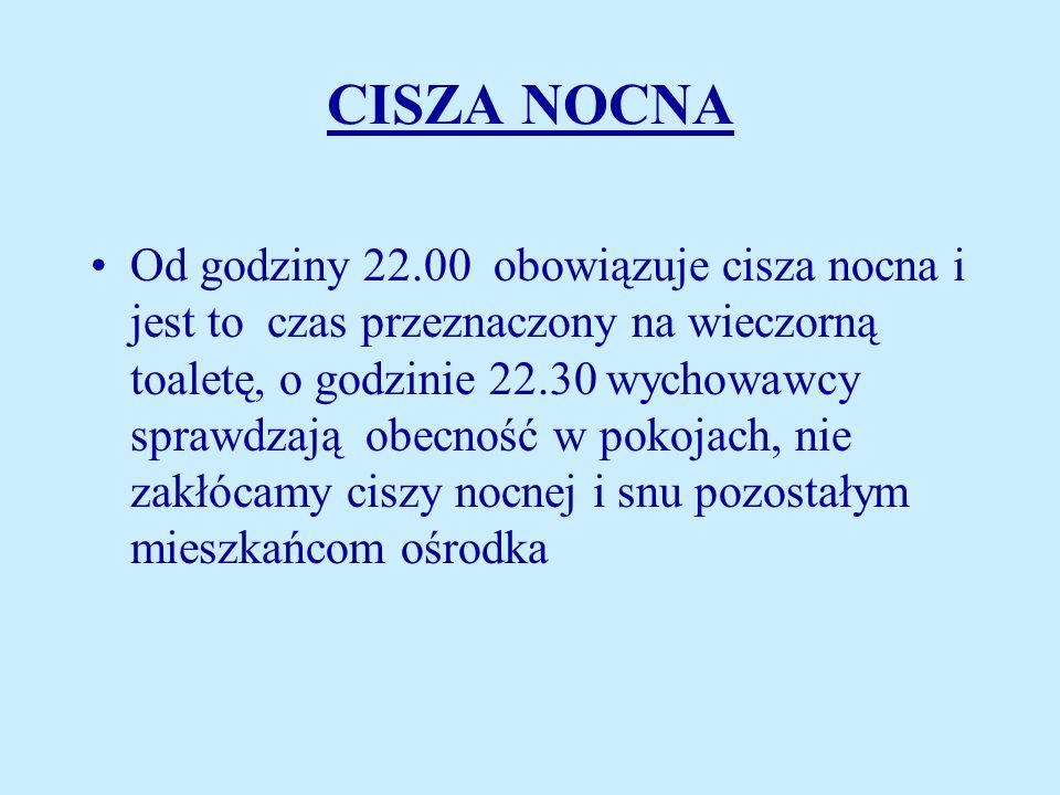 CISZA NOCNA