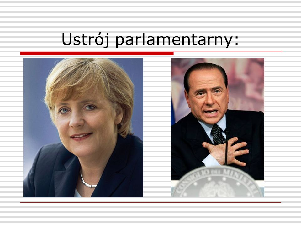 Ustrój parlamentarny: