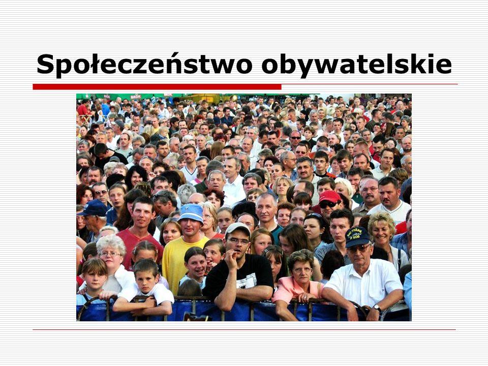 Społeczeństwo obywatelskie