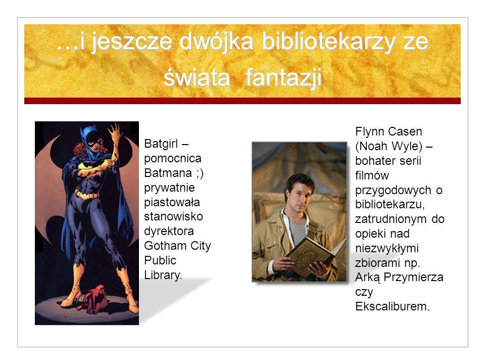 …i jeszcze dwójka bibliotekarzy ze świata fantazji