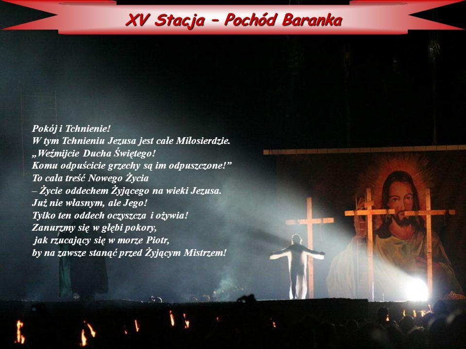 XV Stacja – Pochód Baranka
