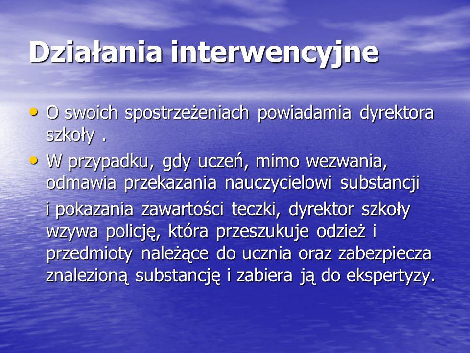 Działania interwencyjne
