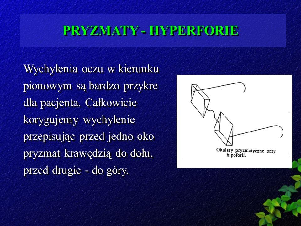 PRYZMATY - HYPERFORIE