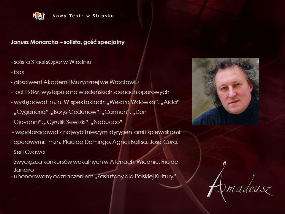 Janusz Monarcha – solista, gość specjalny