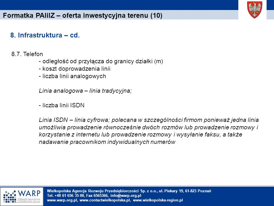 Formatka PAIiIZ – oferta inwestycyjna terenu (10)