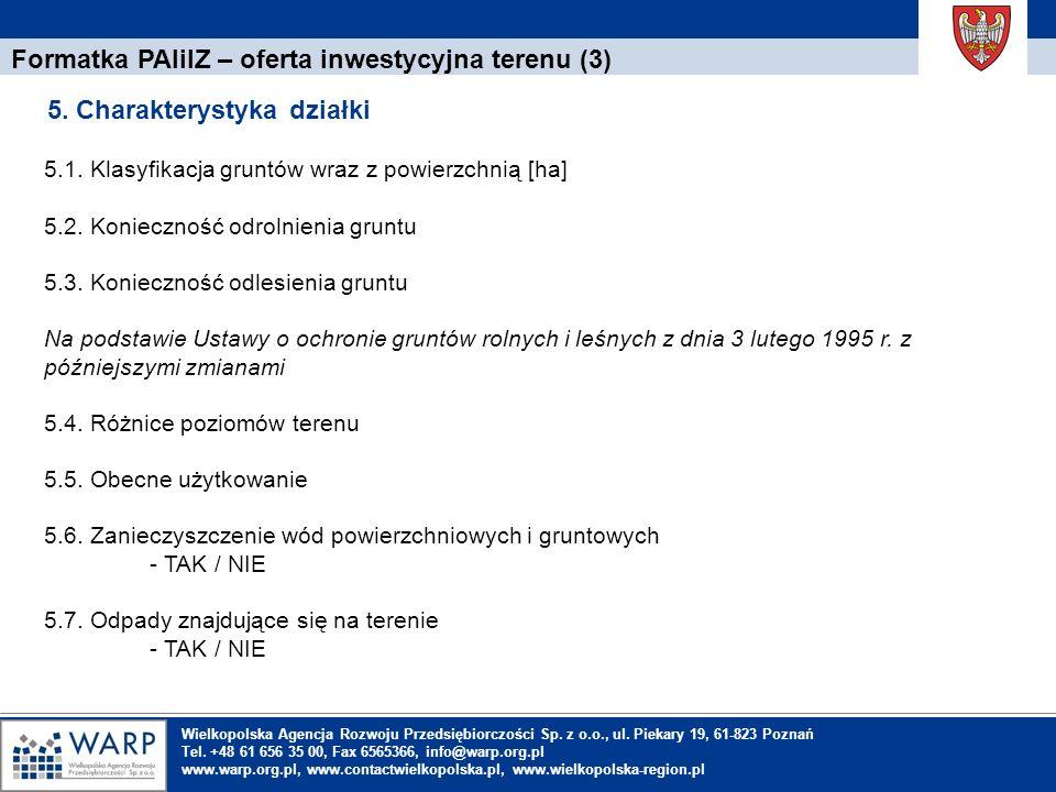 Formatka PAIiIZ – oferta inwestycyjna terenu (3)