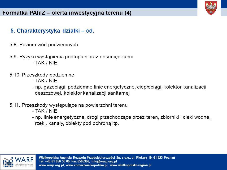 Formatka PAIiIZ – oferta inwestycyjna terenu (4)