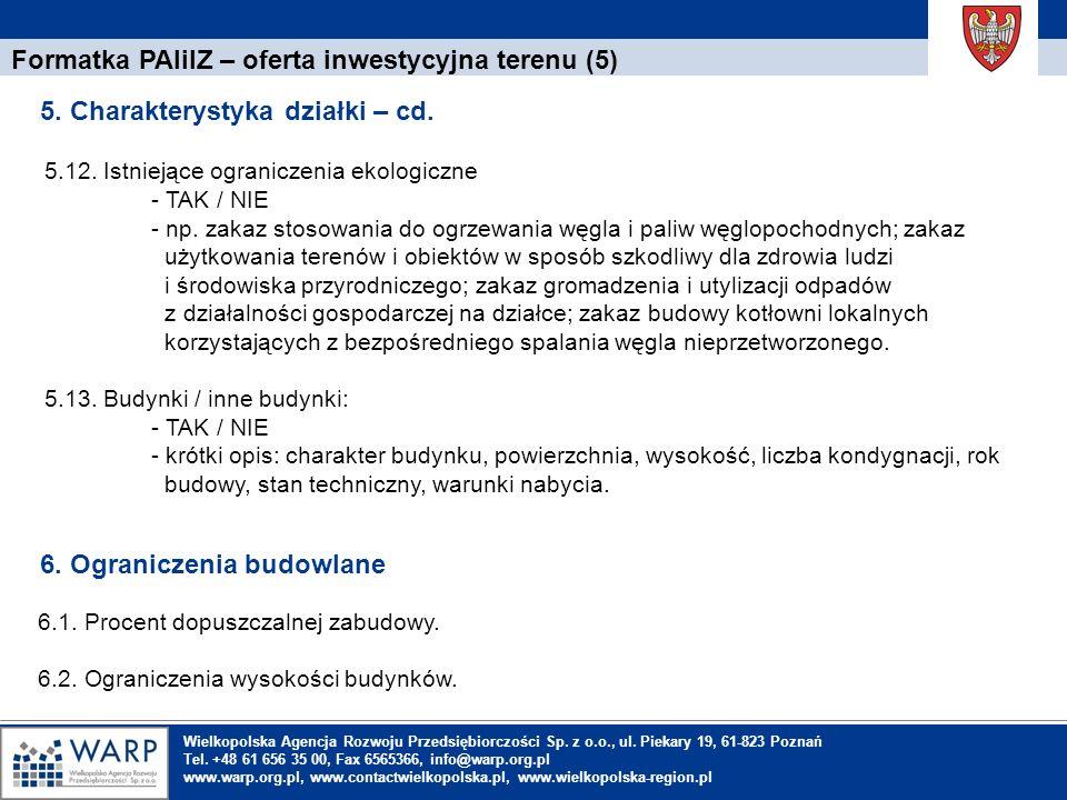 Formatka PAIiIZ – oferta inwestycyjna terenu (5)
