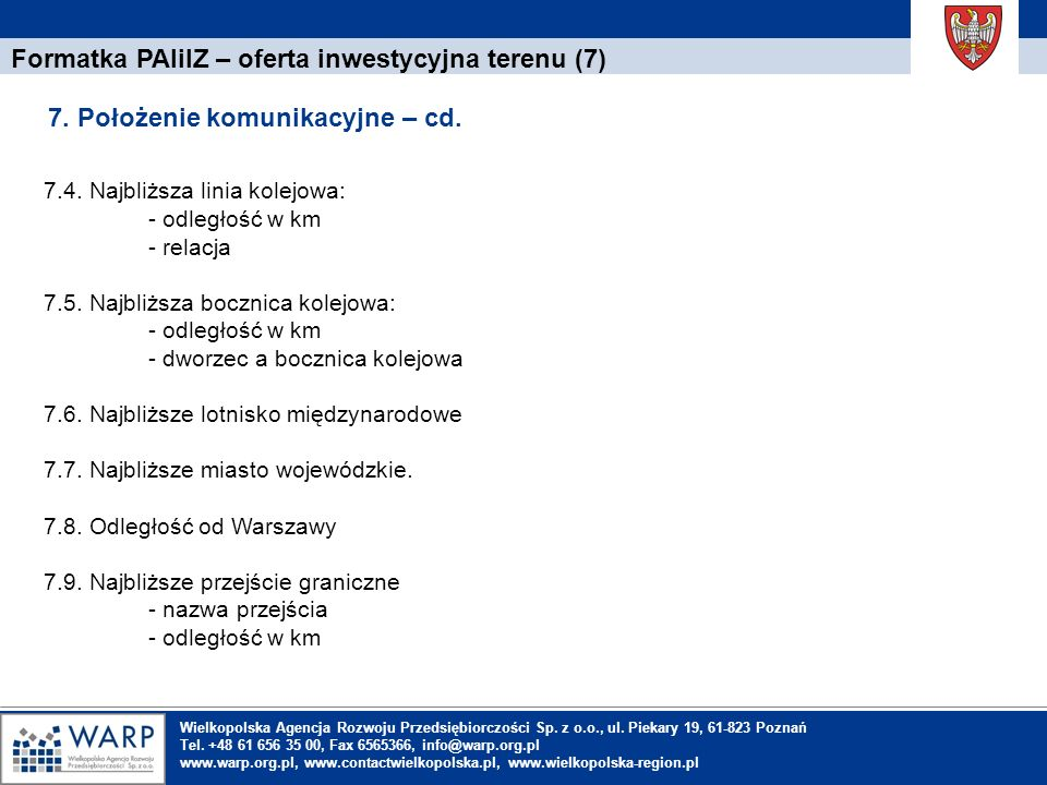 Formatka PAIiIZ – oferta inwestycyjna terenu (7)