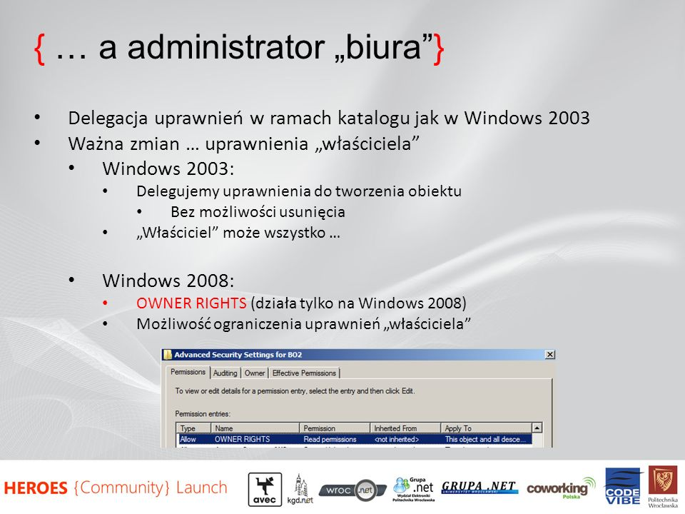 "{ … a administrator ""biura }"