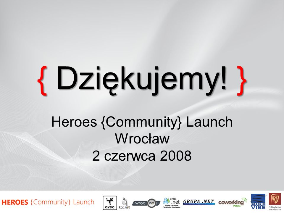 Heroes {Community} Launch